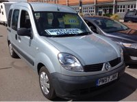 USED 2007 57 RENAULT KANGOO 1.2 16v 75 Authentique 5dr WHEELCHAIR ADAPTED, 36000 miles,
