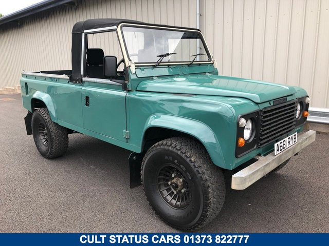 1984 LAND ROVER DEFENDER 110 LWB 3.5 V8 SOFT TOP PICK UP
