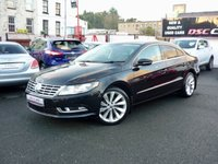 2012 VOLKSWAGEN CC 2.0 TDI BlueMotion Tech GT 4dr   **5 SEATER** £9750.00