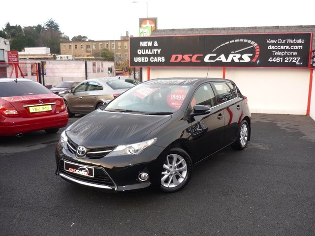 2013 13 TOYOTA AURIS 1.4 D-4D Icon 5dr (start/stop)