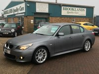 2007 BMW 5 SERIES 2.0 520D M SPORT 4d 175 BHP £SOLD