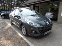 USED 2010 60 PEUGEOT 207 1.6 HDI SW MILLESIM 5d 92 BHP ONLY £20 A YEAR ROAD TAX, 2 KEYS, FULL SERVICE HISTORY