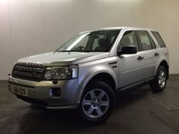 USED 2011 61 LAND ROVER FREELANDER 2 2.2 TD4 GS 5d 150 BHP FACELIFT LEATHER ONE OWNER FSH FACELIFT MODEL 4WD. STUNNING SILVER MET WITH FULL BLACK LEATHER TRIM. CRUISE CONTROL. 17 INCH ALLOYS. COLOUR CODED TRIMS. PARKING SENSORS. BLUETOOTH PREP. AIR CON. TRIP COMPUTER. R/CD/MP3 PLAYER. 6 SPEED MANUAL. MFSW. TOWBAR. MOT 11/17. ONE OWNER FROM NEW. FULL SERVICE HISTORY. PRISTINE CONDITION. FCA FINANCE APPROVED DEALER. TEL 01937 849492.