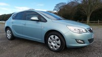 2010 VAUXHALL ASTRA 1.4 EXCLUSIV 5d 98 BHP £4500.00