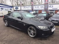 2011 BMW 3 SERIES 2.0 320D M SPORT 2d AUTO 181 BHP £12495.00