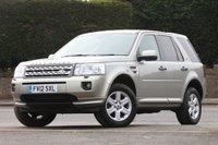 2012 LAND ROVER FREELANDER 2.2 SD4 GS 5d AUTO 190 BHP £SOLD
