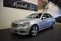 2011 MERCEDES-BENZ E CLASS 2.1 E250 CDI BLUEEFFICIENCY AVANTGARDE 4d AUTO 204 BHP £12500.00