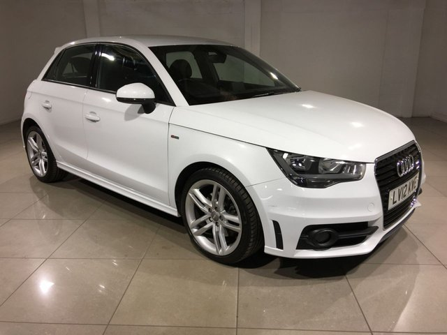 View our 2012 12 AUDI A1 1.6 SPORTBACK TDI S LINE 5d 105 BHP