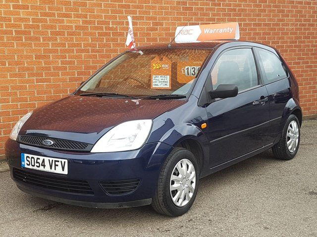 2005 54 FORD FIESTA 1.2 FINESSE 16V 3 Door
