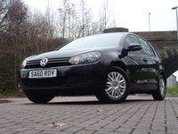2010 VOLKSWAGEN GOLF 1.6 S TDI 5d 103 BHP £5350.00
