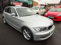 2009 BMW 1 SERIES 2.0 116D SPORT 5d 114 BHP £6000.00