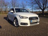 2015 AUDI A1 1.6 TDI SPORT 3d AUTO 114 BHP £13995.00