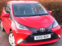 USED 2015 15 TOYOTA AYGO 1.0 VVT-I X-PLAY 5d 69 BHP POOR CREDIT? WE CAN HELP JUST CLICK THE LINK AND APPLY 24/7!! VERY ECONOMICAL & CHEAP TO RUN!
