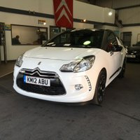 2012 CITROEN DS3 1.6 DSTYLE PLUS 3d 120 BHP £6495.00