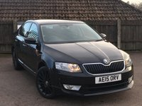 USED 2015 15 SKODA OCTAVIA 1.6 BLACK EDITION TDI CR 5d 104 BHP