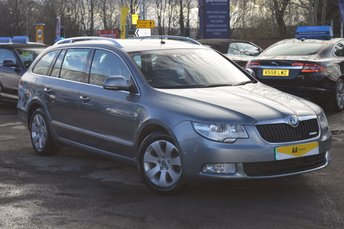 2013 SKODA SUPERB 1.6 ELEGANCE GREENLINE II TDI CR 5d 105 BHP ESTATE £9983.00