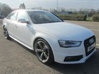 USED 2014 64 AUDI A4 2.0 TDI QUATTRO S LINE BLACK EDITION S/S 4d AUTO 174 BHP 5.5% APR AVAILABLE ON THIS CAR...(LIMITED TIME ONLY!!!!!)