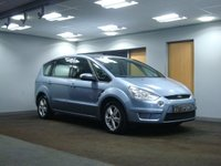 USED 2007 07 FORD S-MAX 2.0 ZETEC TDCI 5d 143 BHP 7 SEATER++++++DEPOSIT RECEIVED+++++