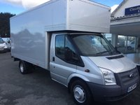 2012 FORD TRANSIT T350 LWB RWD 2.2 TDCi 125 6-Speed 13.5ft LUTON  £12995.00