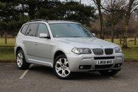 2008 BMW X3 3.0 D M SPORT 5d AUTO 215 BHP £9980.00
