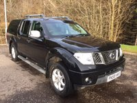 2008 NISSAN NAVARA 2.5 OUTLAW LEATHER DCI NO VAT 4DR PICK UP 169 BHP £7999.00