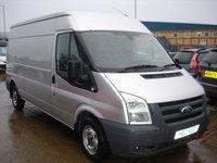 2011 FORD TRANSIT 2.2 300 SHR 1d 115 BHP LWB MOT SERVICE WARRANTY NO VAT  £5995.00