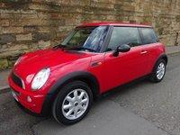 2003 MINI HATCH ONE 1.6 ONE 3d 89 BHP £2850.00