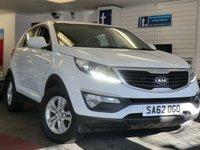 2012 KIA SPORTAGE 1.7 CRDI 1 5d 114 BHP £10999.00