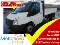 USED 2014 14 FORD TRANSIT Tipper 350 MWB 1-Way 100ps (CPD Body)