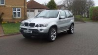 USED 2006 06 BMW X5 3.0 D SPORT 5d AUTO 215 BHP BLACK DAKOTA LEATHER***  SERVICE RECORD***  HEATED SEATS***  EXCELLENT CONDITION