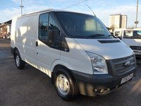 USED 2012 62 FORD TRANSIT 2.2 T280 ECONETIC 100 BHP, 6 SPEED, 1 COMPANY OWNER
