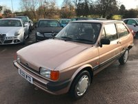 USED 1988 E FORD FIESTA 1.1 L 3d AUTO 49 BHP CLASSIC FORD FIESTA WITH 41,000 GENUINE MILES, GREAT CONDITION, AUTOMATIC GEARBOX, BODY IS IN GREAT CONDITION, INTERIOR IS IN GREAT CONDITION WITH NO RIPS OR BURNS, THE CAR IS A GREAT EXAMPLE OF A CLASSIC FIESTA