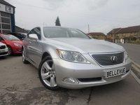 2007 LEXUS LS 4.6 460 SE-L 4d AUTO 376 BHP £11000.00
