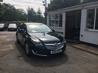 USED 2015 15 VAUXHALL INSIGNIA 2.0 SRI NAV CDTI ECOFLEX S/S 5d 138 BHP NEED FINANCE? WE CAN HELP. WE STRIVE FOR 94% ACCEPTANCE