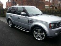 2011 LAND ROVER RANGE ROVER SPORT 3.0 TDV6 HSE 5d 245 BHP Luxury £17000.00
