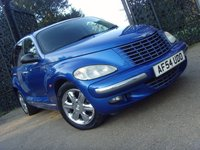 2004 CHRYSLER PT CRUISER 2.0 LIMITED 5d 140 BHP £1499.00