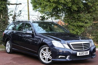2010 MERCEDES-BENZ E CLASS 3.0 E350 CDI BLUEEFFICIENCY SPORT 5d AUTO 231 BHP £10995.00