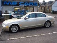 2006 JAGUAR S-TYPE 2.7 V6 SE 4d AUTO 206 BHP £4995.00