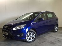 2013 FORD GRAND C-MAX 1.6 GRAND ZETEC TDCI 5d 114 BHP 7 SEATER PDC ONE OWNER FSH £8990.00