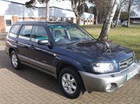 2005 SUBARU FORESTER 2.0 X ALL WEATHER 5d 125 BHP £2450.00