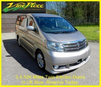 2003 TOYOTA ALPHARD AS Premium 8 Seat Automatic. £7000.00