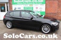 2012 BMW 1 SERIES 1.6 116D EFFICIENTDYNAMICS 5d 114 BHP £7499.00