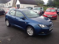 USED 2012 62 SEAT IBIZA 1.6 CR TDI SE 5d 104 BHP PRICE INCLUDES A 6 MONTH RAC WARRANTY, 1 YEARS MOT AND A OIL & FILTERS SERVICE AND 12 MONTHS FREE BREAKDOWN COVER