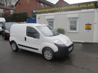 2013 FIAT FIORINO 1.2 16V MULTIJET, RARE AUTOMATIC GEARBOX! ELECTRIC PACK, PARKING SENSORS, SIDE LOADING DOOR, FULL SERVICE HISTORY  £3995.00