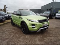 USED 2012 61 LAND ROVER RANGE ROVER EVOQUE 2.2 SD4 DYNAMIC 5d AUTO 190 BHP 4 SERVICE STAMPS  1 PREV OWNER JAN 2018 MOT