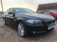 2010 BMW 5 SERIES 3.0 530D SE 4d AUTO 242 BHP £13495.00