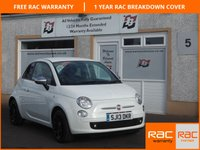 USED 2013 13 FIAT 500 1.2 STREET 3d 69 BHP 1 Owner , Half Leather ,£30 tax