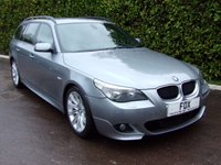 2006 BMW 5 SERIES 2.0 520D M SPORT TOURING 5d 161 BHP £5500.00