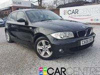 2006 BMW 1 SERIES 1.6 116I SPORT 5d 114 BHP £2995.00