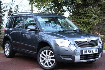 2009 SKODA YETI 1.8 ELEGANCE TSI 4WD 5d 160 BHP £8450.00